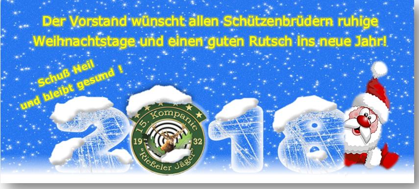 Frohe Weihnachten und einen Guten Rutsch ins neue Jahr ! – Rießeler ...